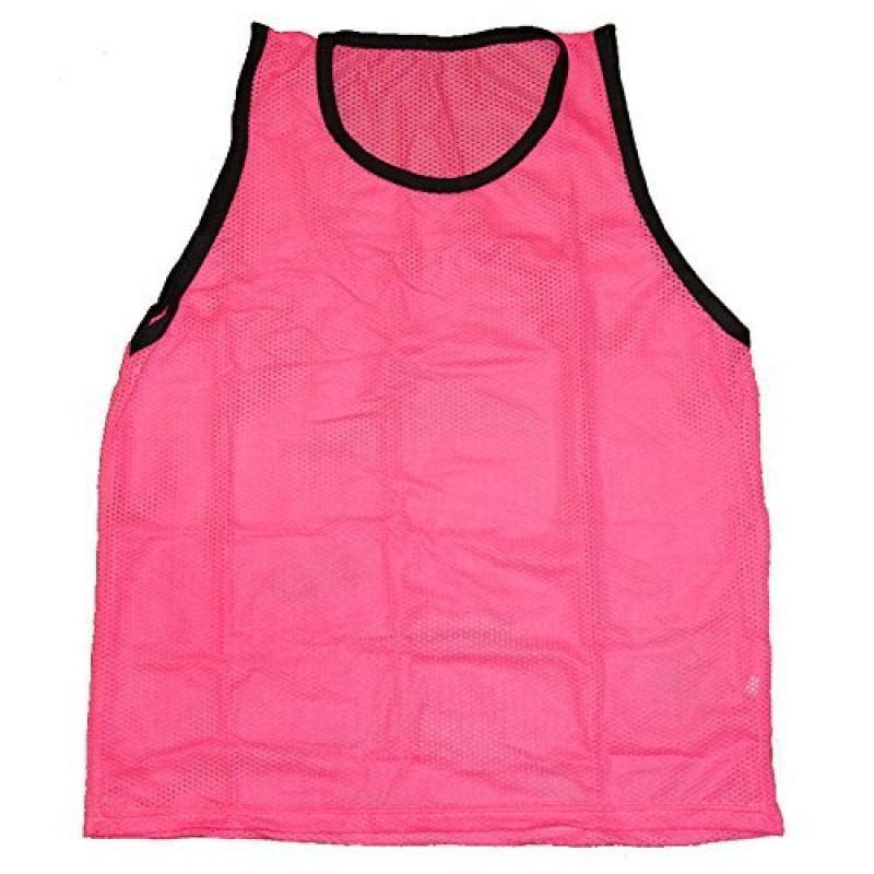 Workoutz Adult Soccer Pinnies (1 Dozen, Pink) Scrimmage V...