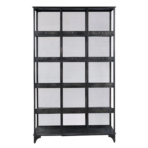 17 Stories Sergei 84'' Etagere Bookcase by