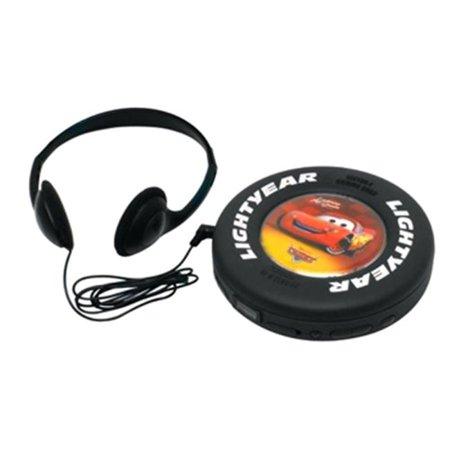 Disney C100CD Cars Lightning Mcqueen Portable CD Player
