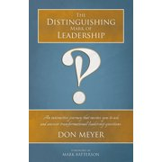 The Distinguishing Mark of Leadership - eBook