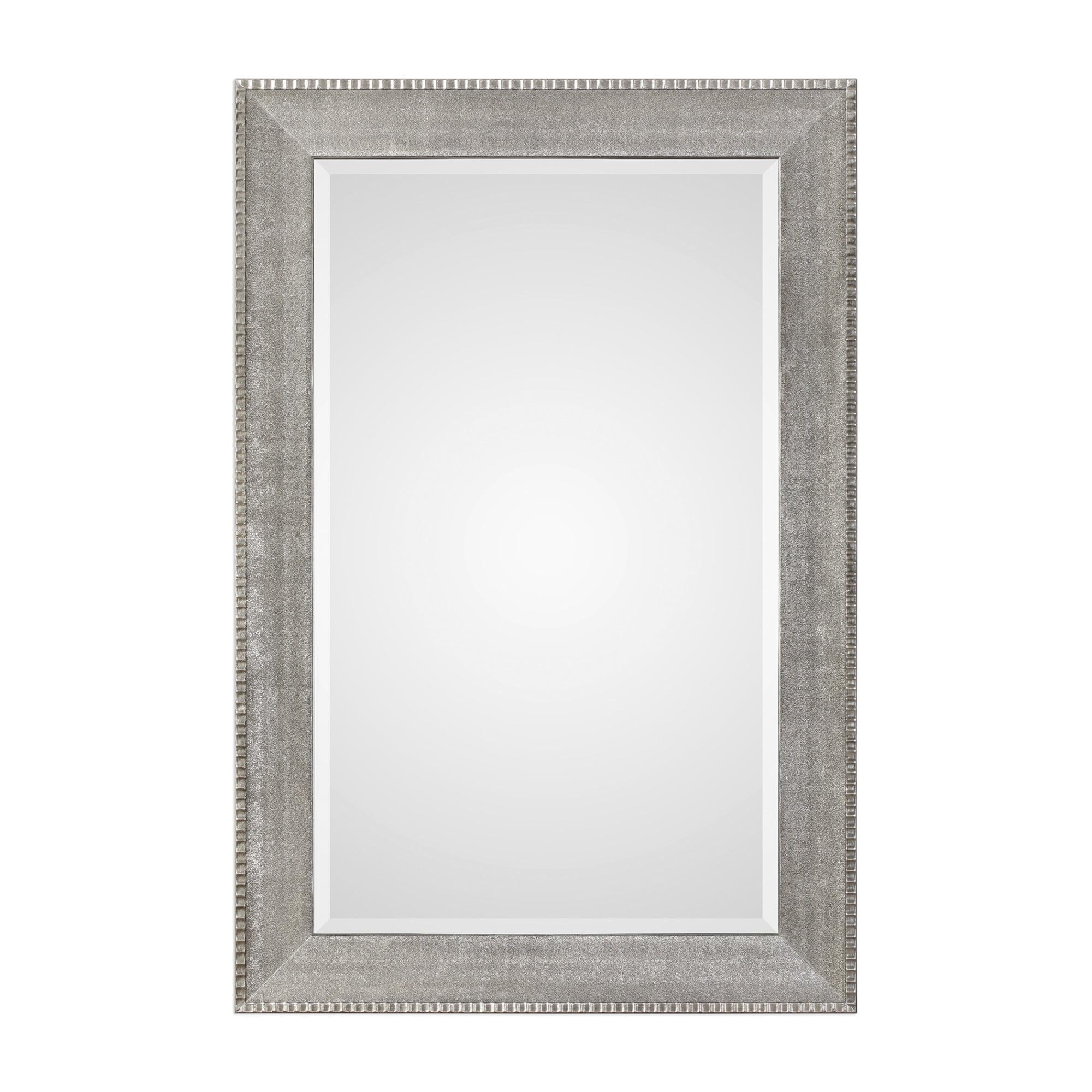 Uttermost 09370 Leiston Oversized Contemporary Portrait Full Length Wall Mirror Walmart Com Walmart Com