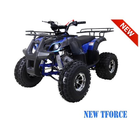 Blue TaoTao 125CC NEW TFORCE Mid Size ATV, Automatic with Reverse, Air Cooled, 4-Stroke,