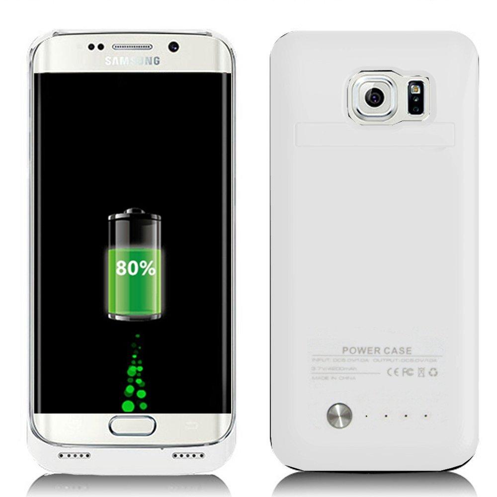 Samsung Galaxy S6 Edge Charger Case 4200mAh Ultra Slim Re...