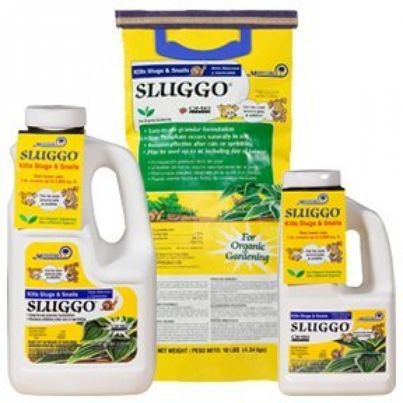 Monterey 704601 Sluggo Snail and Slug Pest Control, 40-Pound