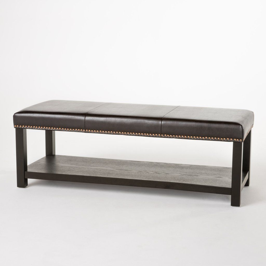 Ghp 1890x5000x1770 Brown Upholstered With Pu Leather Rack