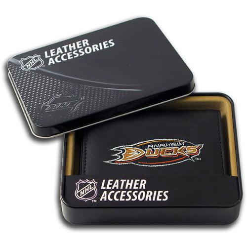 NHL - Men's Anaheim Ducks Embroidered Trifold Wallet