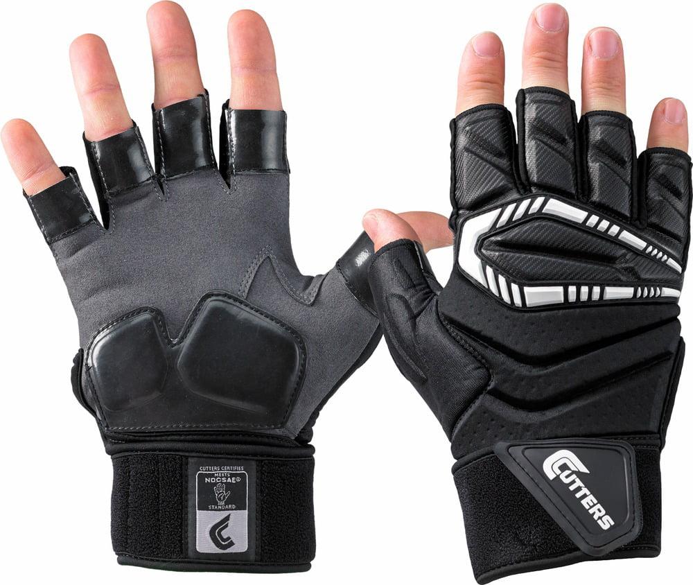 ... Youth Scorch Destroy Lineman Gloves  100% high quality ea17f 6ba6b  Cutters Force.5 Adult Half-Finger Lineman Football ... b0c3156b9c2a