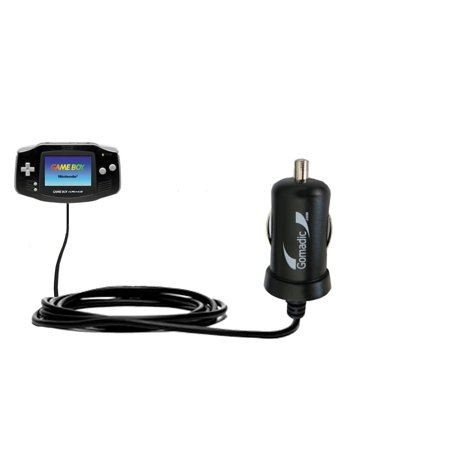 Gomadic Intelligent Compact Car   Auto Dc Charger Suitable For The Nintendo Gameboy Advanced Sp   Gba Sp   2A   10W Power At Half The Size  Uses Gomad