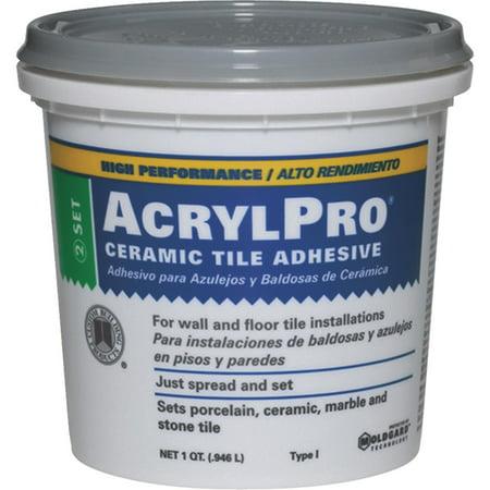 - AcrylPro Ceramic Tile Mastic