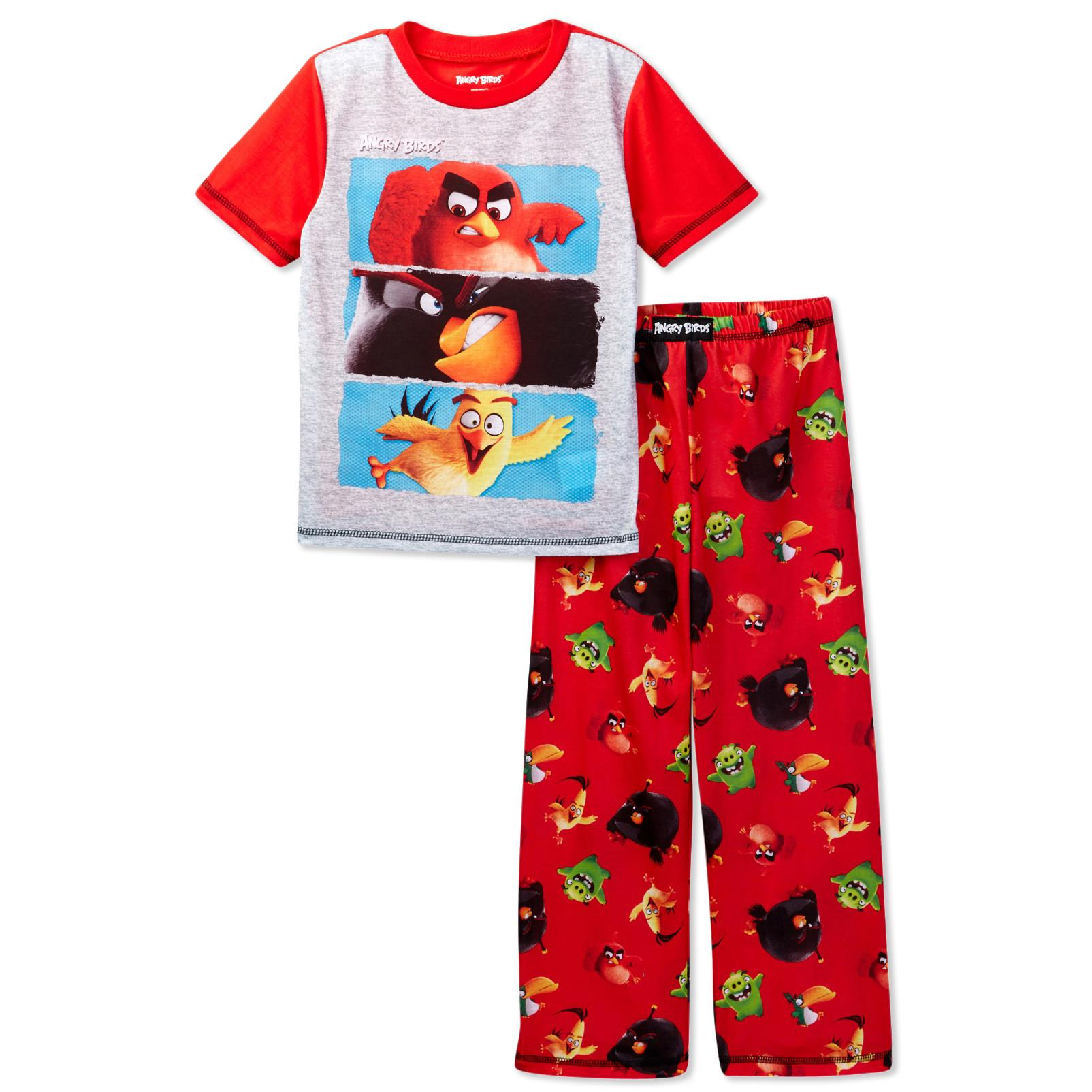 Angry Birds Big Boys' 2pc Sleepwear Set