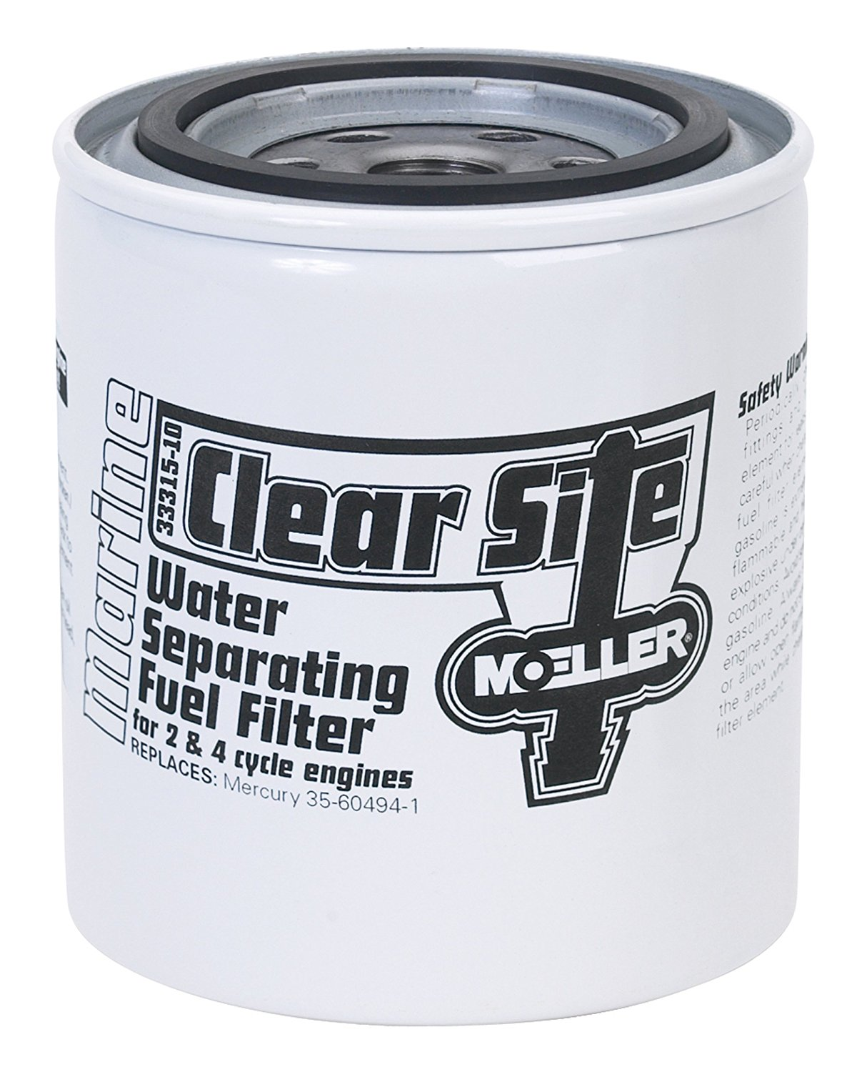 Moeller H2o Fuel Filter Can Only 033315 10 Clear Site Bowl By High Performance Filters Marine