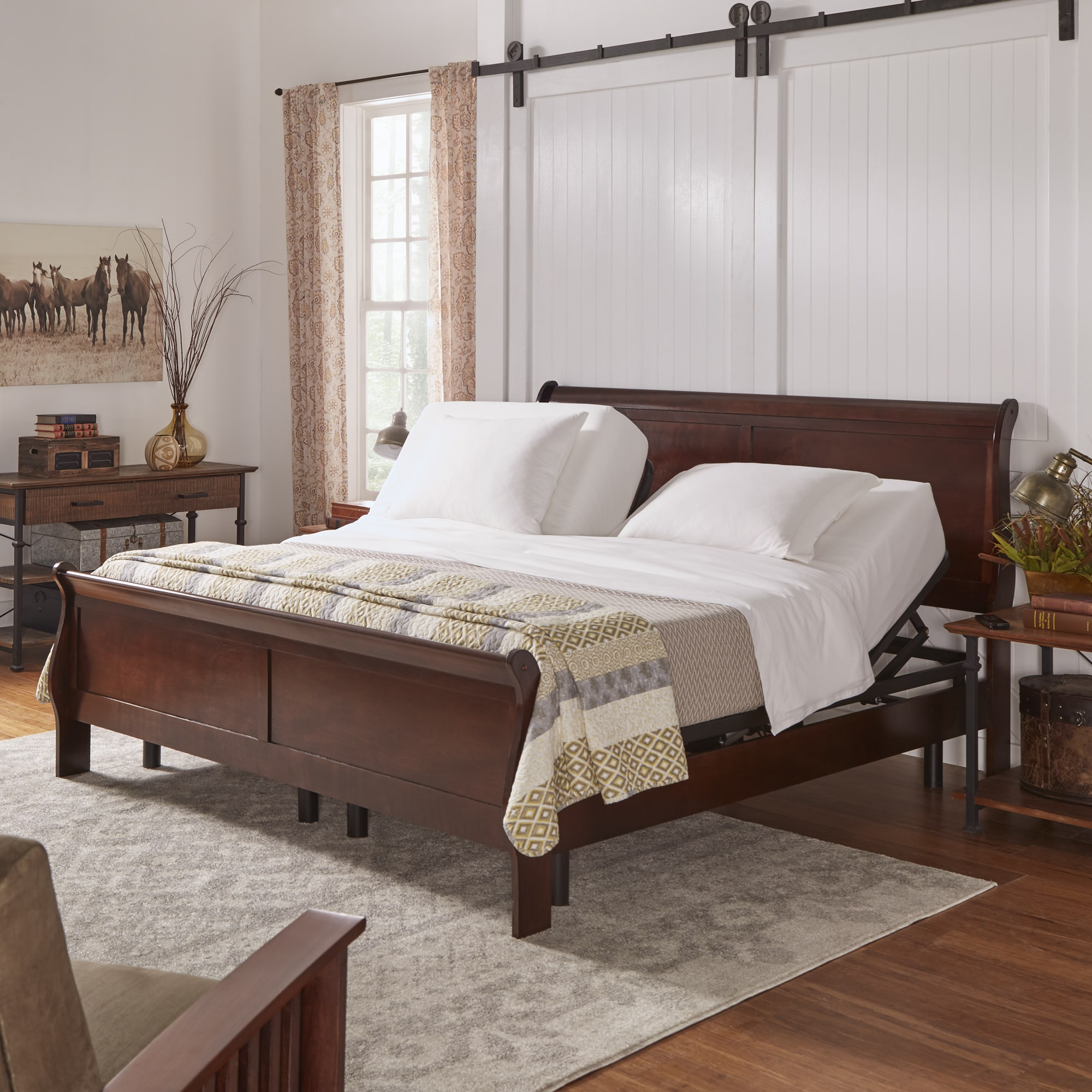 iNSPIRE Q Todd Electric Adjustable Bed Base with Wireless...