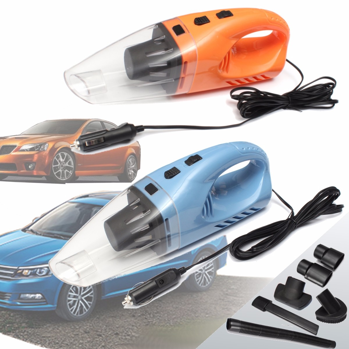 12V 120W Car Vacuum Cleaner Handheld Portable Wet Dry Vacuum Cleaner Autopflege Auto Dust Buster Hand Vacuum