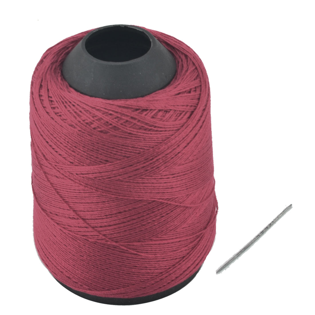 Tailor Polyester Tower Shape Crafting Clothing Sewing Thread Reel Red