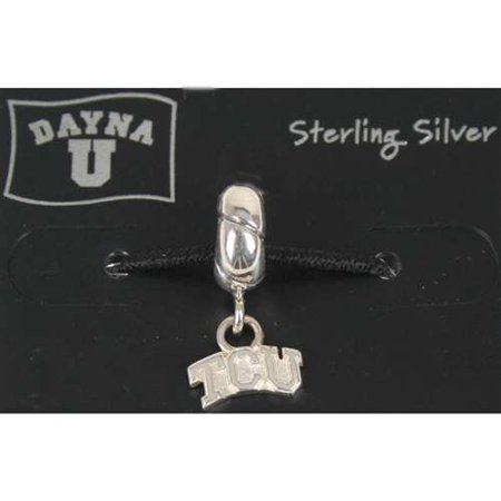 TCU Horned Frogs Sterling Silver Charm - Tcu Parties