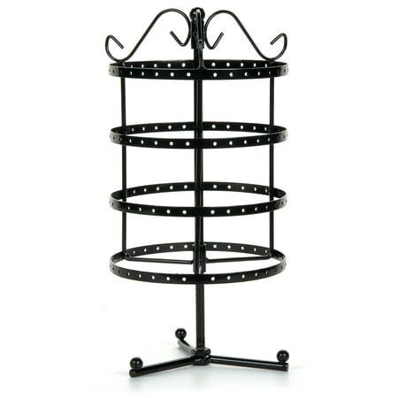 Darice Black Metal Tiered Earring Display Stand, 12.4 Inches Acrylic Earring Display Stand