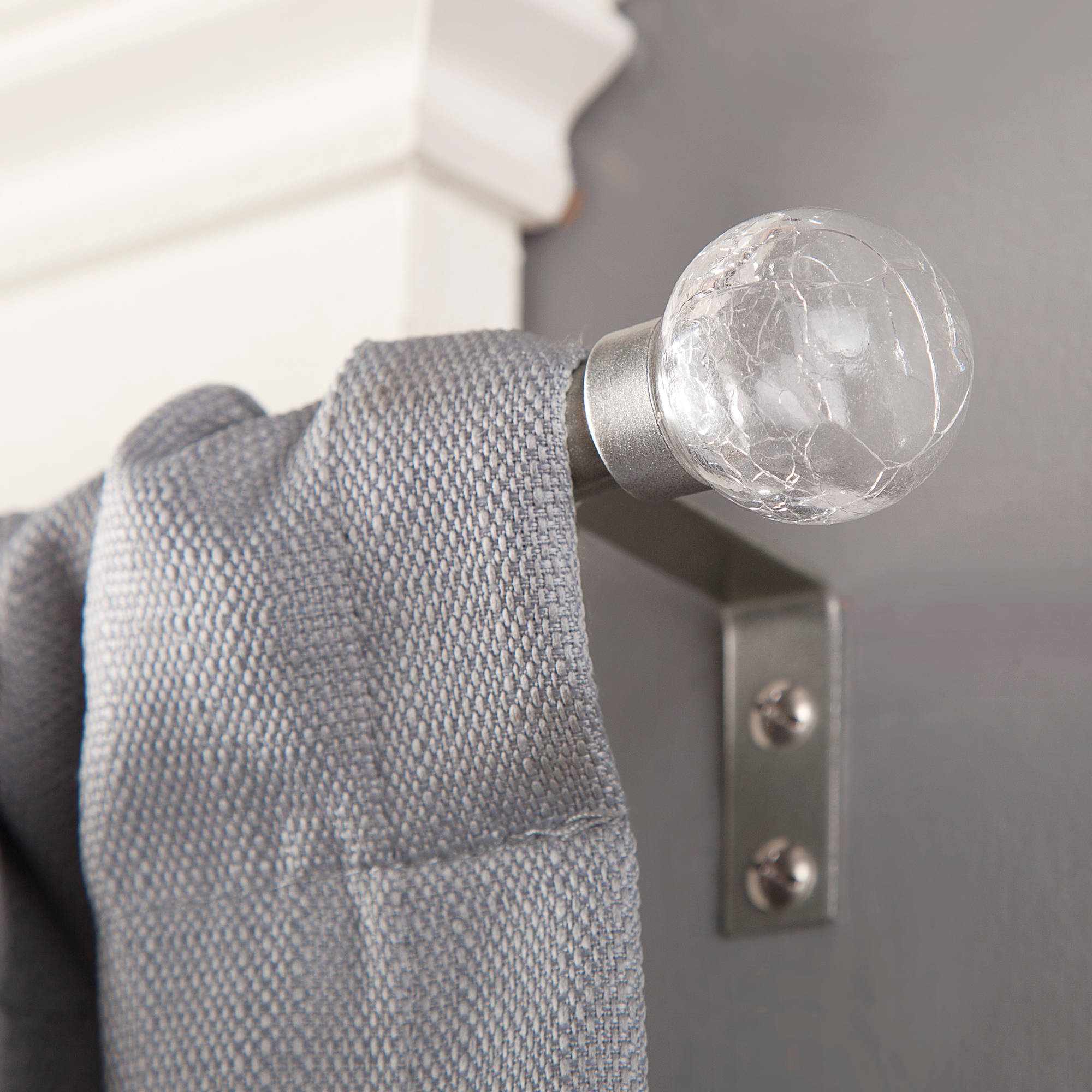 "Kenney 1/2"" Diameter Crackle Curtain Rod"