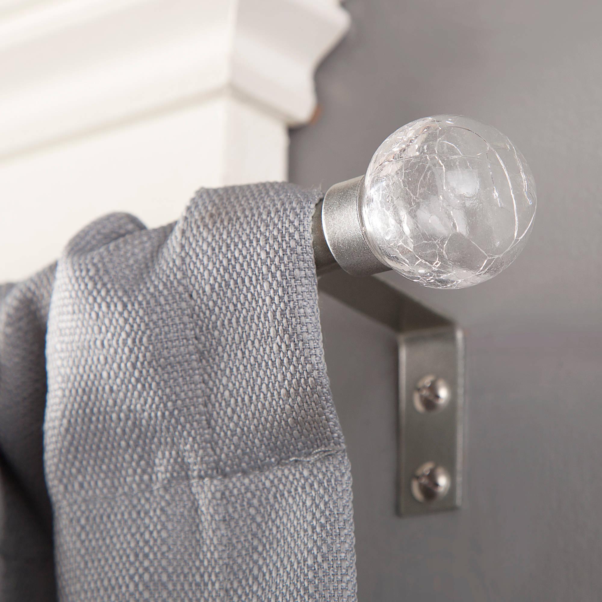 "Kenney 1/2"" Diameter Crackle Curtain Rod"
