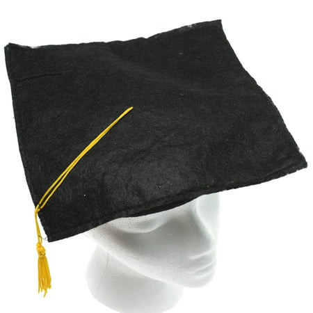 Black Felt Graduation Cap