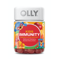 Olly Kids Mighty Immunity Gummies with Wellmune & Elderberry, 50 ct