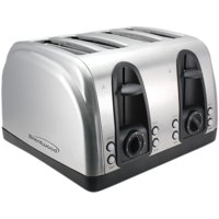 Brentwood Select TS-445S Extra Wide Slot 4-Slice Toaster, Stainless Steel