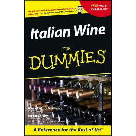 Italian Wine for Dummies.