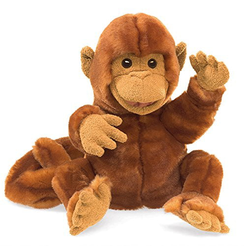 Folkmanis Classic Monkey Hand Puppet by Folkmanis Puppets