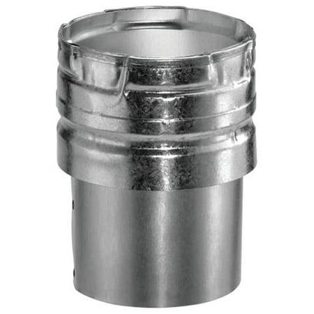 AmeriVent 6EDC Draft Hood Connector Snap-Lock, Steel