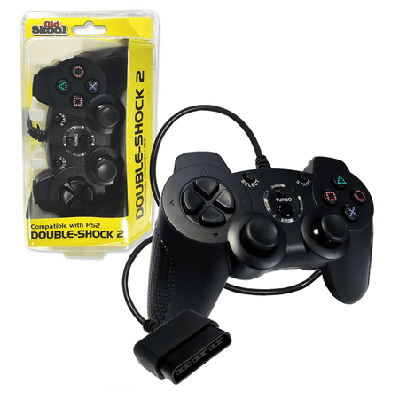 402850d8f40 PS2 Wired DOUBLE-SHOCK 2 Controller for Playstation 2 by Old Skool ...