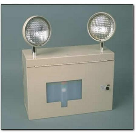 Big Beam 2AR6L40 Standard Heads Emergency Ar Lights 6 V Standard Beige Finish Big Beam Emergency Lighting