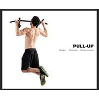 LAFGUR Pull Up Rod Door Rod Tie Rod Turn Bar Door Strike Rod Strength Training, Pull Up Bar Door, Chin Up Bar Wall