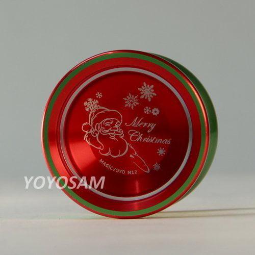 Magic Yo-Yo N12 Aluminum Yo-Yo - Merry Christmas - Walmart.com
