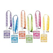 Luau Party Lanyards - Jewelry - 12 Pieces