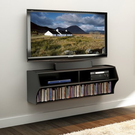 (Prepac Altus Wall Mounted A/V TV Stand, Multiple Finishes)