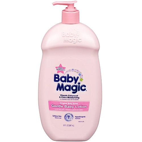 Baby Magic Gentle Original Scent Baby Lotion, Non-GMO - 30 Oz