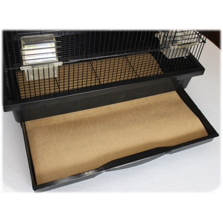 - Bird Cage Liners - Large - 60 Pound Paper - Custom Size - Dimensions not to exceed 30 inches by 30 inches