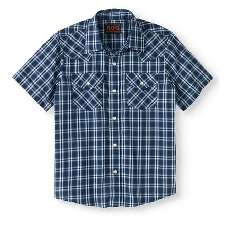 Boys' Short-Sleeve Western Shirt ()