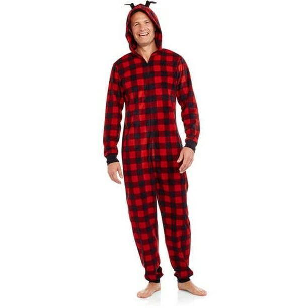 Holiday Family Pajamas Buffalo Plaid One - Walmart.com ...