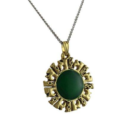 Inti Quri Inca Achala Talisman For Golden Energy