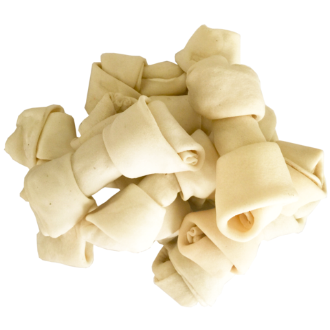 Pet Magasin 10-Count 6-7 Inch Dog Rawhide Bones From US Hide