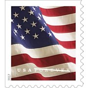 USPS FOREVER® STAMPS, Coil of 100 Postage Stamps, Stamp Design May Vary