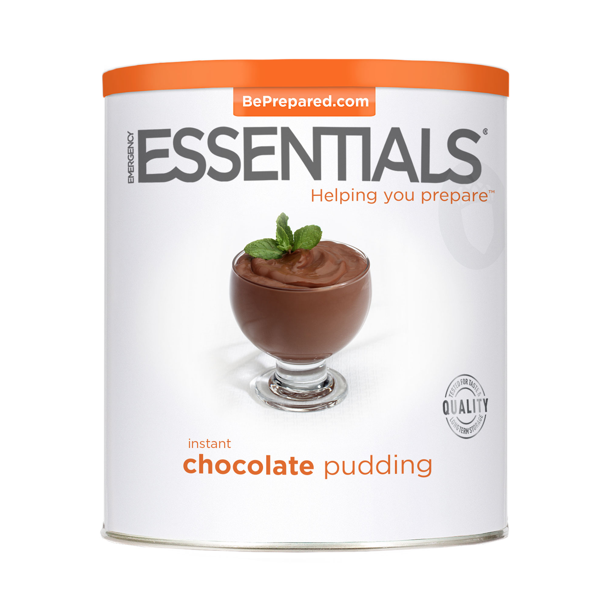 Emergency Essentials DH Pudding, Instant Choclate #10 Can by Emergency Essentials