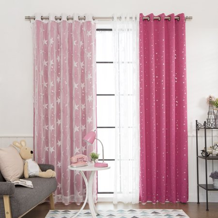 Mix And Match Curtains Colors Of Aurora Home Mix Match Curtains Blackout Tulle Lace Sheer