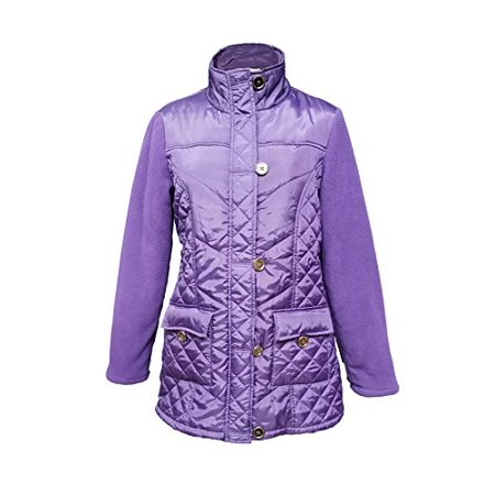 The North Face Womens Denali Jacket Apparel (Affordable Apparel Women's Everyday Lightweight Full-Zip Jacket (Purple, XL))