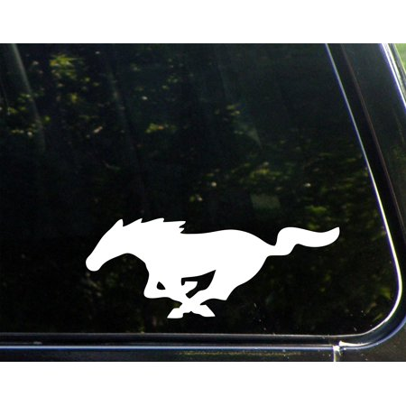 "Mustang - 9"" x 3-1/2"" - Vinyl Die Cut Decal/ Bumper Sticker For Windows, Cars, Trucks, Laptops, Etc.,Sign Depot,SD1-8203"