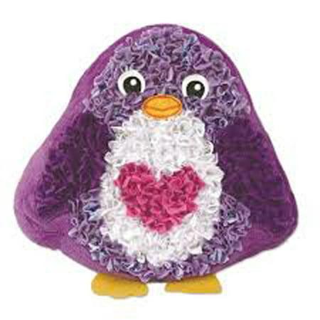 PlushCraft Penguin Pillow Craft Kit: 200 pieces (Penguin Pillow)