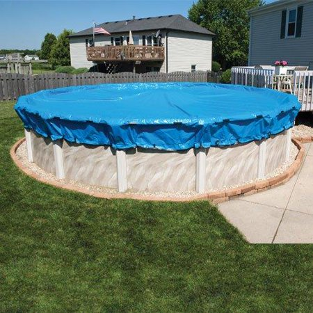 10 Year 24 Ft Round Ultimate Above Ground Winter Pool