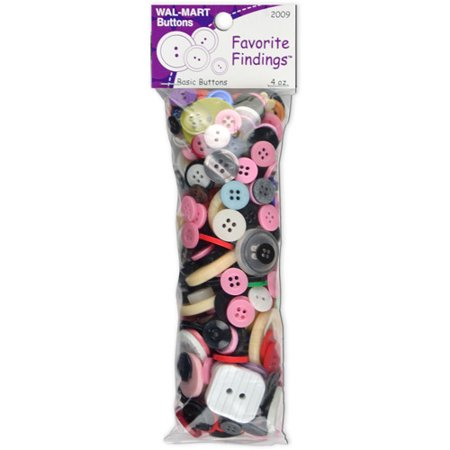 Favorite Findings Value Pack Of Buttons  4 Ounces  Multi Color