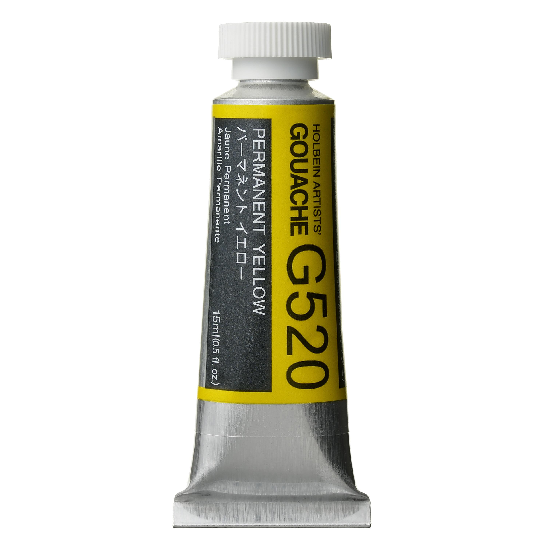 Holbein Designers' Gouache, 15ml, Permanent Yellow