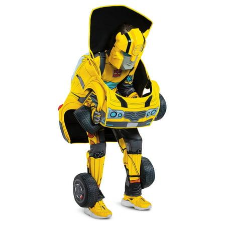 Transformers Kids Bumblebee Converting Costume - image 7 de 7